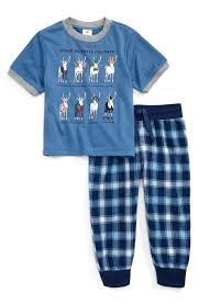 tucker tate graphic two pajamas set toddler boys