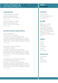 Best Resume Font Size For Calibri by Cv Format Agility Resume Mycvfactory