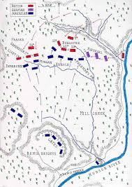 Camp Dearborn Map Battle Of Saratoga First Freeman U0027s Farm U2022 American
