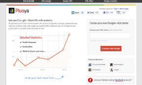 Google Plus Page Vanity Url How To Shorten Google Urls Practical Ecommerce