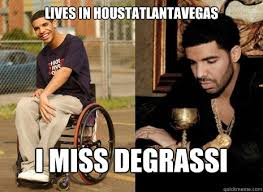 Drake Degrassi Meme - lives in houstatlantavegas i miss degrassi high sad drake