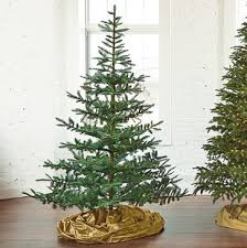 fresh cut noblis fir artificial tree 7 traditional