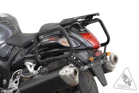 sw motech quick lock evo sidecarriers for suzuki gsx1300r hayabusa