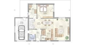 Einfamilienhaus Reihenhaus Schmales Reihenhaus Grundriss
