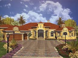 3000 sq ft spanish home plan homes zone