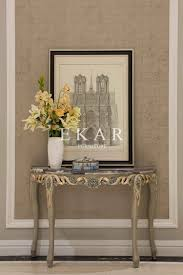 Half Moon Console Table Wooden Cabinet Wall Console Table Acrylic Round Entrance Table
