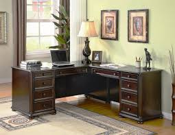 L Shaped Office Desk Furniture Modern Contemporary Home Office Desks Furniture