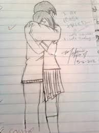 from markcrilley u0027s how to draw people hugging by oddlyawkward on