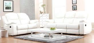 White Leather Living Room Set U7940 Wh White Leather Sofa Set Global Furniture 3pc Brenda U7940