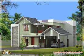 10 kerala house plan elevation at 2991 sqft flat roof plans and