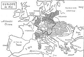 Map Of Europe Black And White by Schaljo Map1815europe