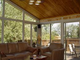 decoration chic cedar ceilings and pendant with window treatment