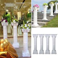 Roman Columns For Home Decor by White Columns For Wedding Decorations Gallery Wedding Decoration