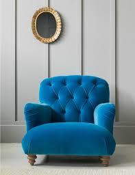 Armchair Velvet Retro Sofas U0026 Vintage Armchairs Rose U0026 Grey