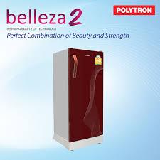 belleza 2 glass door refrigerator 6 5q polytron thailand