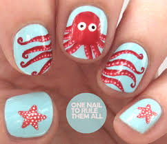 octopus nail art youtube nail art octopus by lizananails on