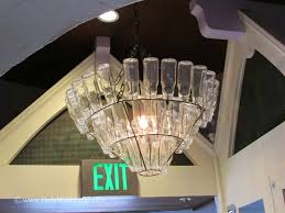 Home And Interior Chandelier Bottle Chandelier At Home And Interior Design Ideas