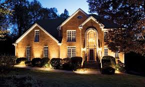professional landscape lighting system earth and woods inside wall