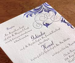 indian wedding reception invitation 2012 wedding trends reception only invitations letterpress
