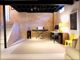 Basement Ideas On A Budget with Inexpensive Unfinished Basement Ideas 1000 Ideas About Unfinished