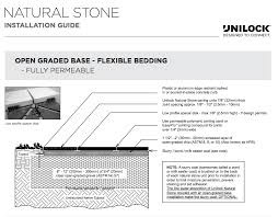 Unilock Brussels Block Patterns by How To Select And Install Natural Stone For A Patio Design That