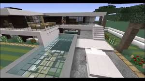 Modern Houses Minecraft Minecraft Modern House Tour Hollywood Hills Youtube