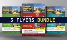 accounting firm flyer template by business templates on
