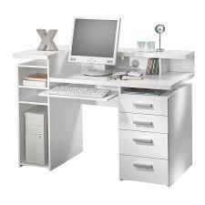 White Computer Desk Tvilum Whitman White Computer Desk 8012549 Desks Trays And Drawers