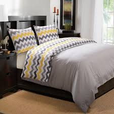 Yellow And Grey Room Yellow And Grey Bedroom Also White Painted Nightstand Home