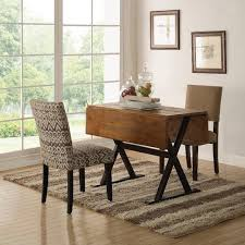 Gateleg Dining Table And Chairs Drop Leaf Dining Table Set Neoteric Design Kitchen Dining Room
