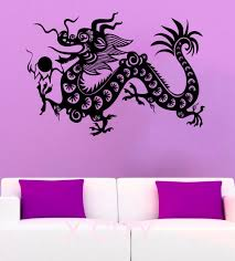 online get cheap oriental walls aliexpress com alibaba group chinese dragon wall stickers mysterious east mythology vinyl decal orient bead home interior design art mural