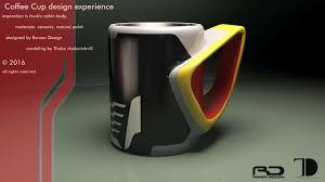 coffee cup design proposal local motors