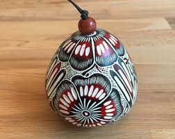 ornaments handmade pumpkin carved ornaments