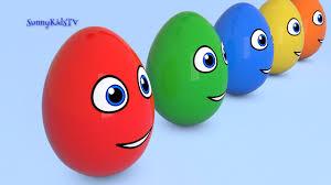 learn colors surprise eggs 3d cartoons for children video for kids
