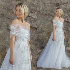 discount ruched tulle wrap romantic wedding dresses 2018 sabrina