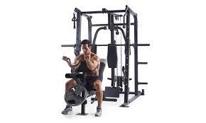 Weider Pro Bench Weider Pro 8500 Smith Weight Cage Groupon