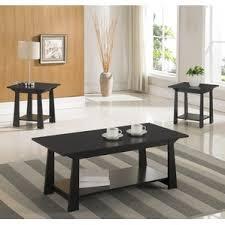 Coffee Table Set 3 Piece End Table Set Wayfair