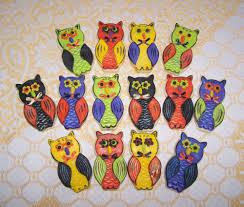 halloween owl cookies fondant cookie connection