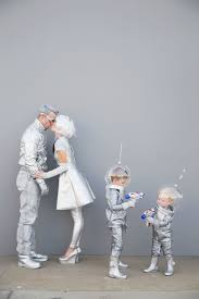 family futuristic costume tell love and party halloweenie