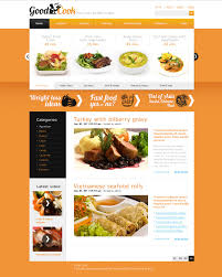 site de cuisine facile cuisine website template food cooking custom website template