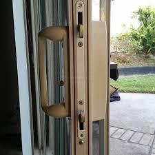 Sliding Glass Patio Door Hardware Sliding Glass Patio Door Dual Mortise Lock Strike Swisco