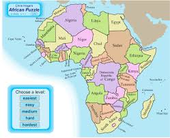 africa map test africa map