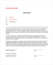employee warning notice 8 free word pdf documents download