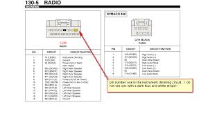 2001 ford mustang radio wiring diagram wiring diagrams