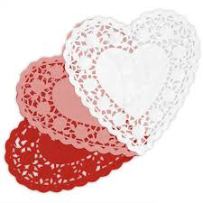 heart shaped doilies heart shaped paper doilies shop paper mart now