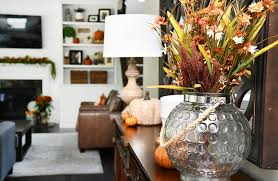 kitchen fall house tour with decorating ideas and projects