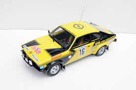opel kadett rally car ottomobile 1 18 opel kadett gte u00271976 rally of monte carlo