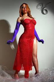 Jessica Rabbit Halloween Costume Black U0026 Curvy Costumes Curves Costumes Women