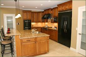 Kitchen Design Oak Cabinets by Kitchen Elegant Kitchen Island With Lowes Quartz Countertops And