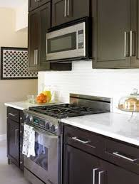 Small Kitchen With Dark Cabinets Top Modern Kitchen Colors With Dark Cabinets For The Home